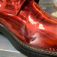 Ботинки с зеркальным покрытием