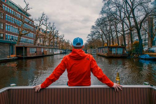 Amsterdam Canal Cruisin