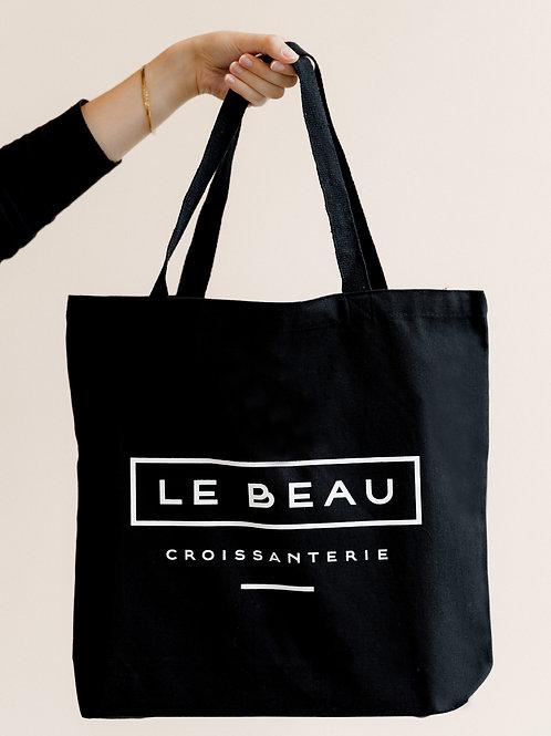 'Le Beau' Croissanterie Tote Bag (large)