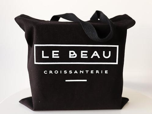 'Le Beau' Croissanterie Cotton Tote Bag