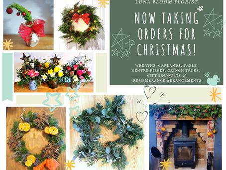 Christmas orders now being taken!