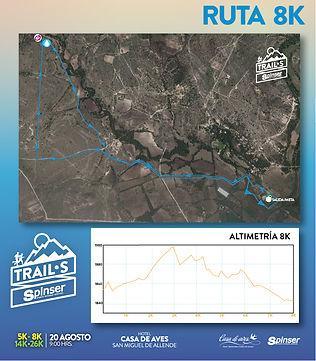 Trail Casa de Aves 8 km