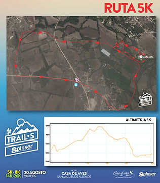 Trail Casa de Aves 5 km