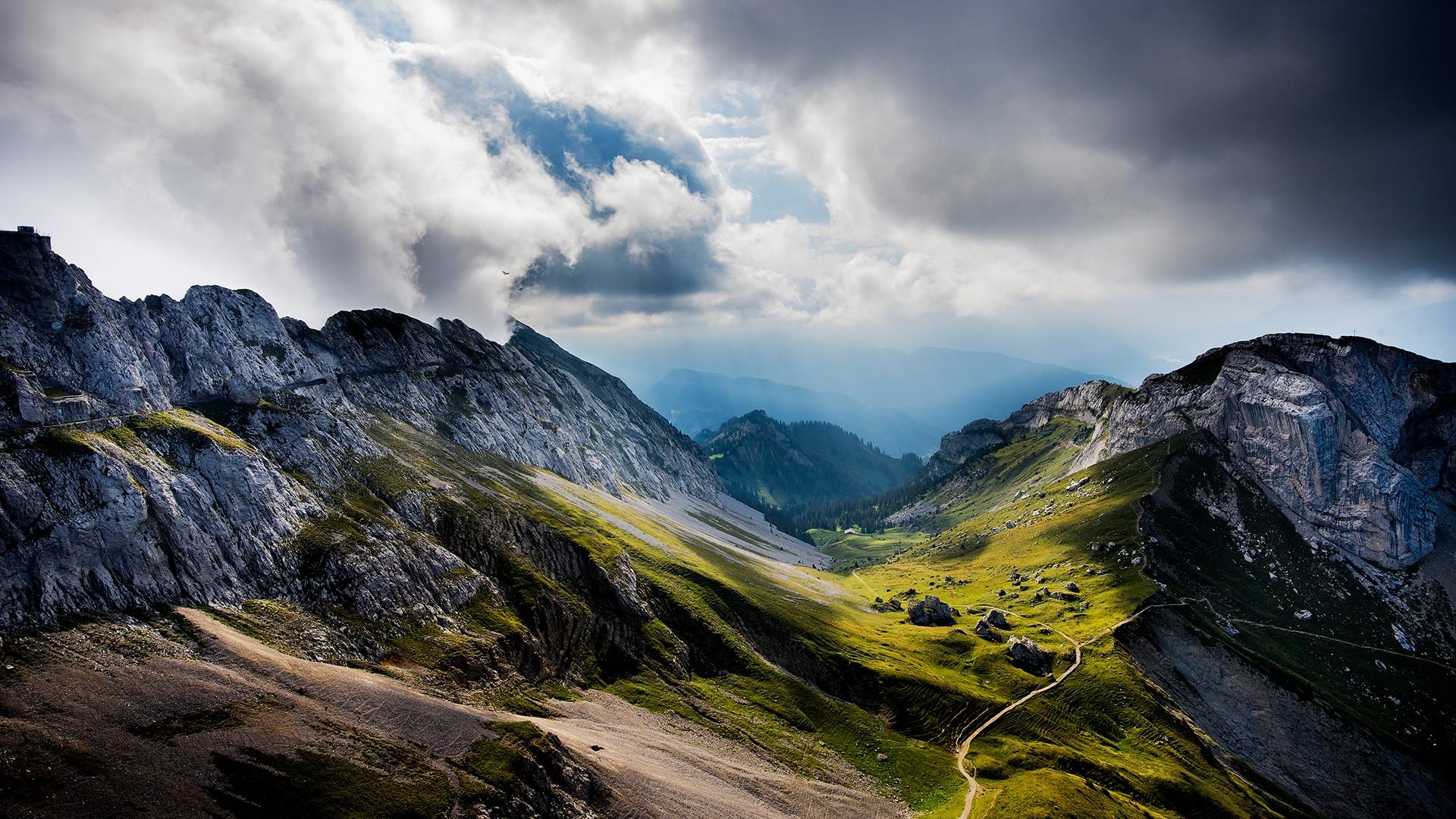 244213-HDR-nature-landscape-clouds-cliff