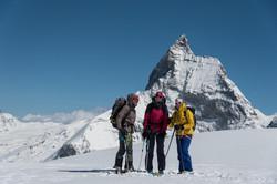 """Drei Frauen, ein Ziel: letzte Etappe während unseres Filmprojektes """"Haute Route"""""""