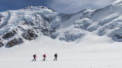 Skibergsteigen: kann sehr entspannend und meditativ sein