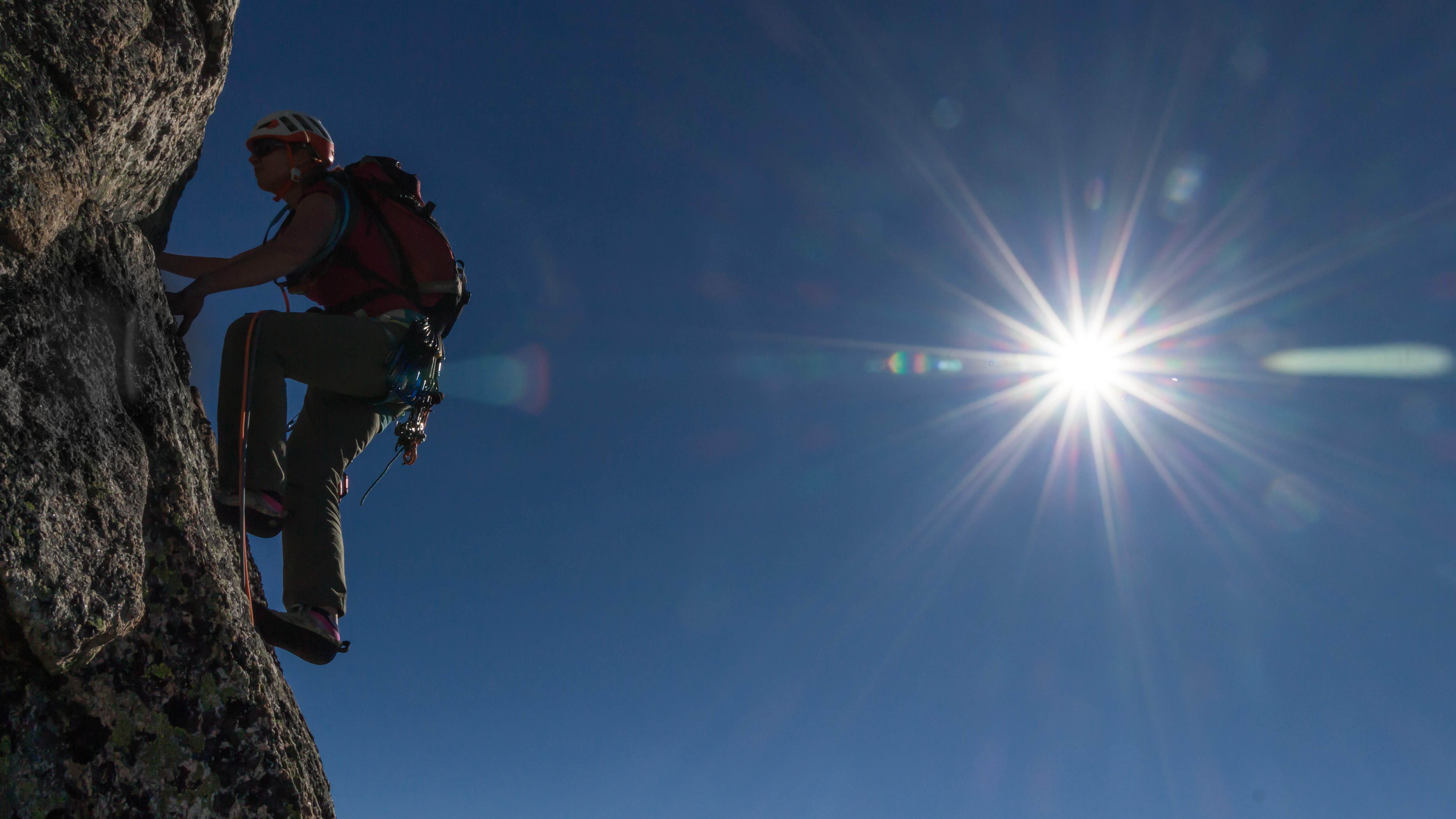 Im Flow: Momente wahrer Freude beim Klettern im schweizer Granit