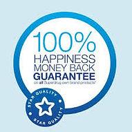 Happiness money back guarantee