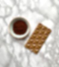 Coffee white chocolate bar