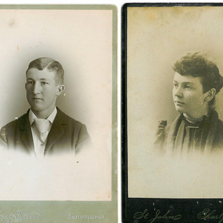 Richard T. and Mary Jane Carroll  siblin