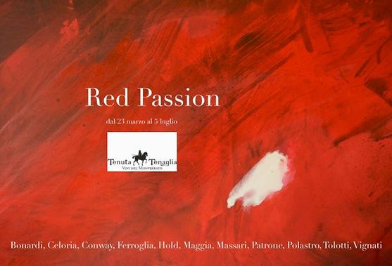 Invito per Red Passion  23 marzo - 5 lug