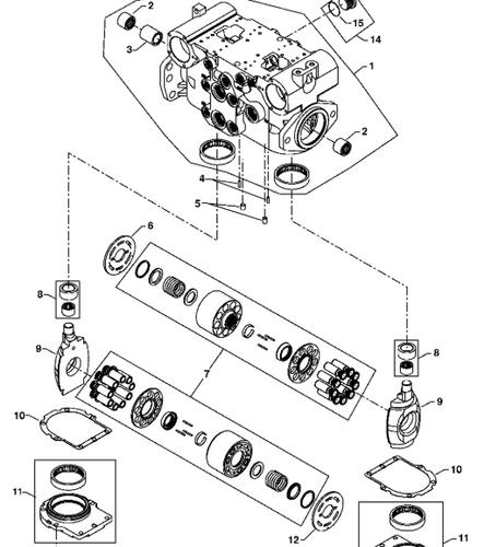 Takeuchi Hydraulic System