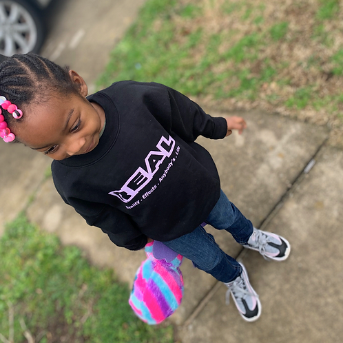 Youth REAL Crewneck Sweater