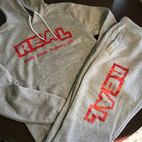 REAL Male 2 Piece Sweatsuit