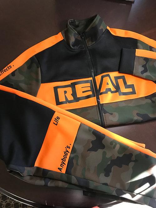 REAL Male 2 Piece Jumpsuit