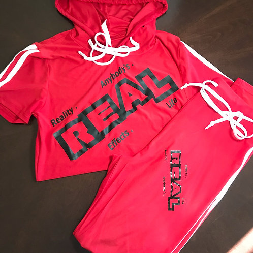 REAL 2 Piece Female Suit