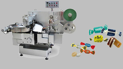 Double Twist Candy Wrapping Machine AHP-