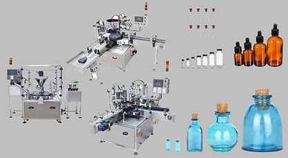 Fully Automatic Filling and Capping Syst