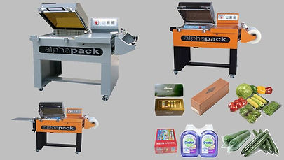 2 in 1 Shrink & Sealing Packing Machine AP-5540 _ 5540A _ 8060
