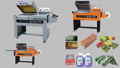 2 in 1 Shrink & Sealing Packing Machine