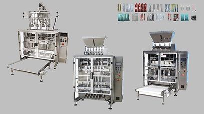 Multi-Lane Stick Packing Machine MLP-800
