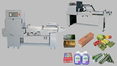 Semi-Automatic Sealing and Shrink Machin