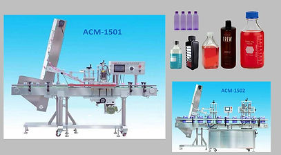 Automatic Capping Plugging Machine ACM-1