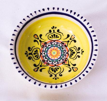 Hand Painted Ceramic Bowl (HMR 030)