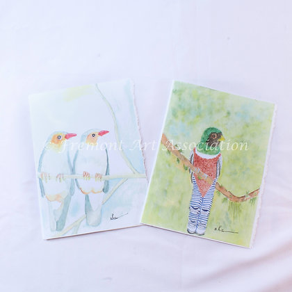 Greeting Cards with Birds (JBR 002)