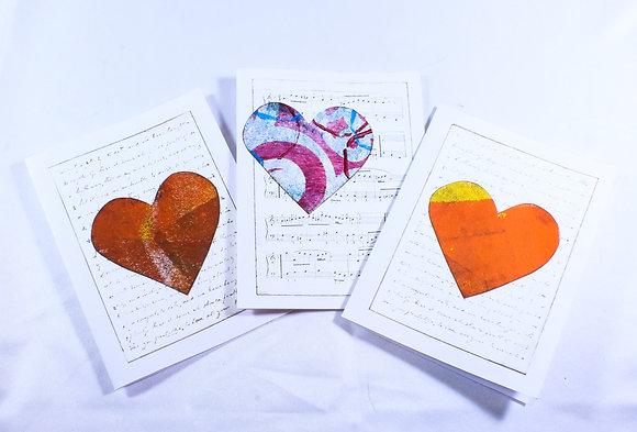 Set of 3 cards by Barbara Cronin (FAA 508)