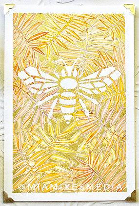 Original Painting: Bee (MTB 009)