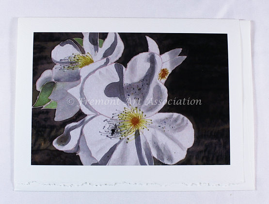 Floral greeting card by Susan Helmer (SMH 502)