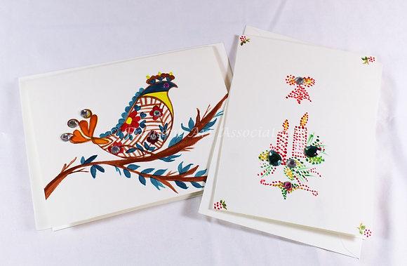 Christmas Bead Cards by Hetal Anjaria (HAA 501)
