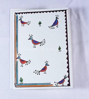 Warli Art Card by Hetal Anjaria (HAA 503)