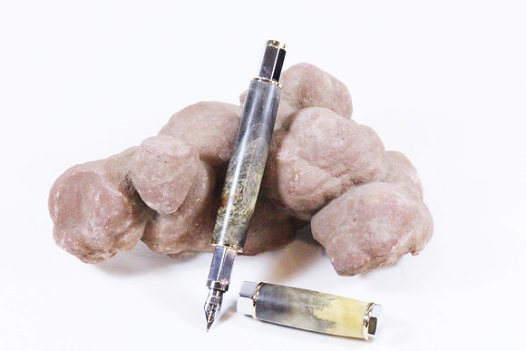 Buckeye Burl Fountain Pen (HMR 002)
