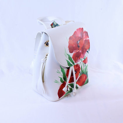 Big Poppies Backpack  (NVB 004)
