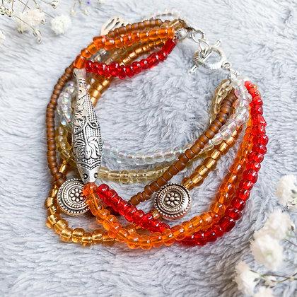 KOI SeedBead Bracelet (ARK019)