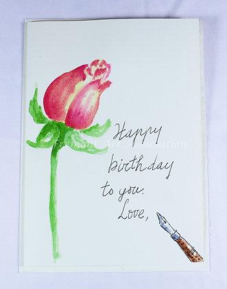 Birthday Card by Trang Nguyen (TMN 505)