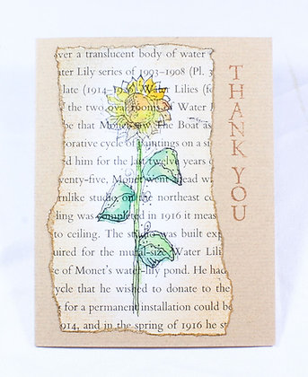 Thank You Notecard by Anita Clemetson (AMC 504)