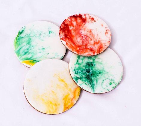 Color Splash Coaster Sets (ARK029)