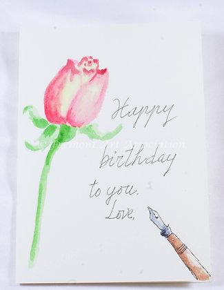 Birthday Card by Trang Nguyen (TMN 517)