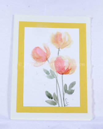 Original Watercolor Card (VFJ 519)