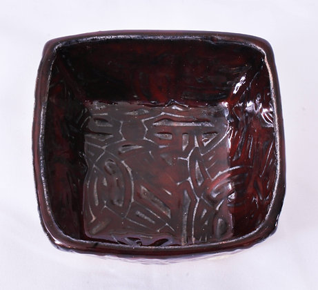 Square Ceramic Dish (MMB 029)