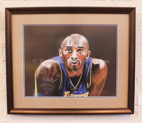 Kobe Bryant Portrait (DCB 001)