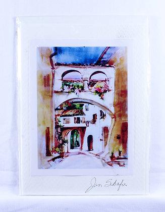 Greeting Card by Jan Schafir (JKS 509)