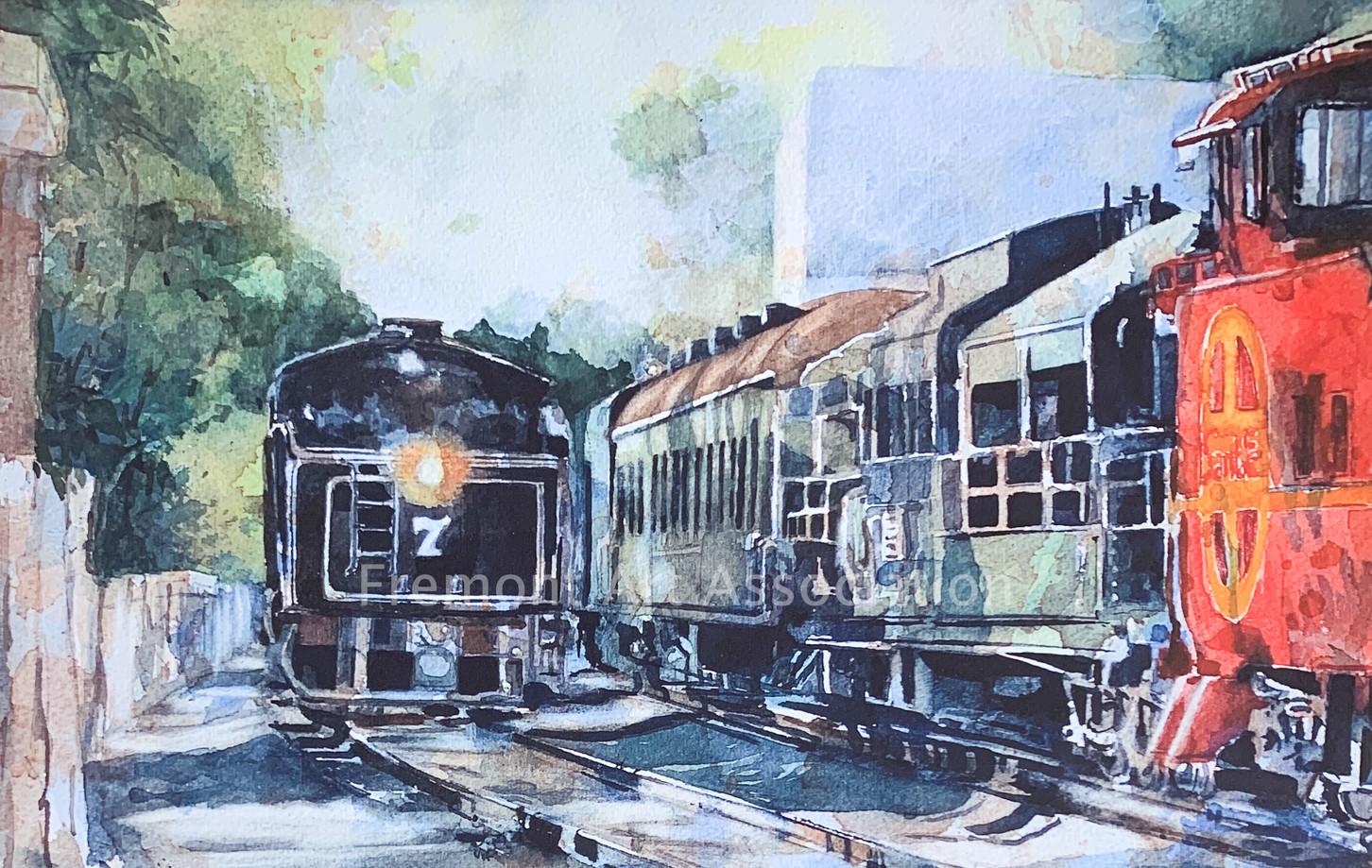 """Niles Railway, Colombia Line"""