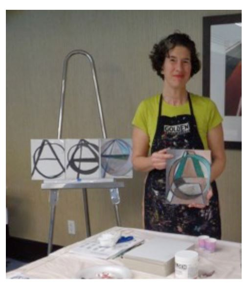 Judy Gittelsohn: Acrylic Painting
