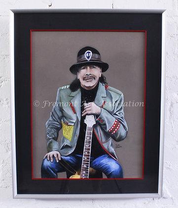 Carlos Santana Portrait (DCB 002)