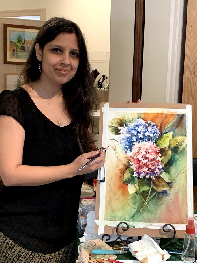 Meghana Mitragotri: Watercolor