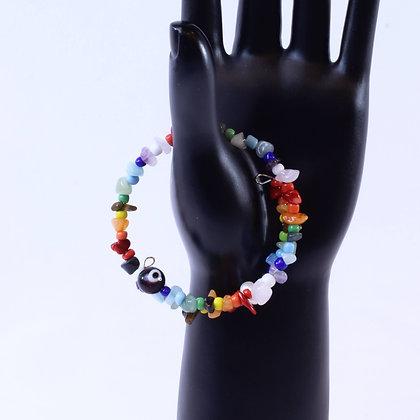 Chakra Bracelet or Choker Necklace (JBR 010)